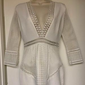 Luxxel White Bodycon Dress